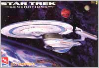 Star Trek USS Enterprise NCC 1701-B model cover