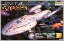 U.S.S. Voyager model box art