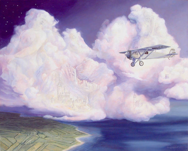 Giants In The Clouds The monumental flight of Charles Lindbergh
