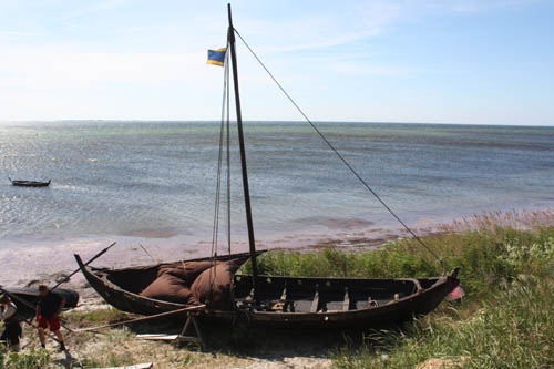 The viking longship at Foteviken