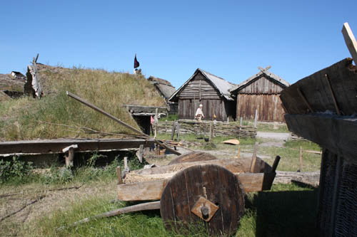 The viking town of Foteviken