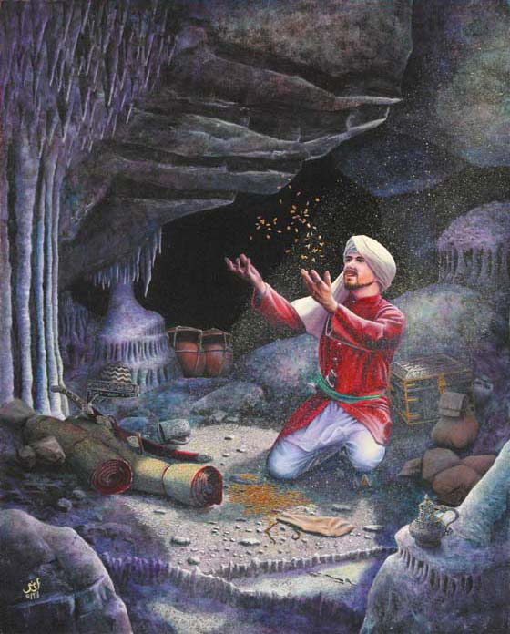 Randy Asplund Ali Baba In The Cave Of The Forty Thieves