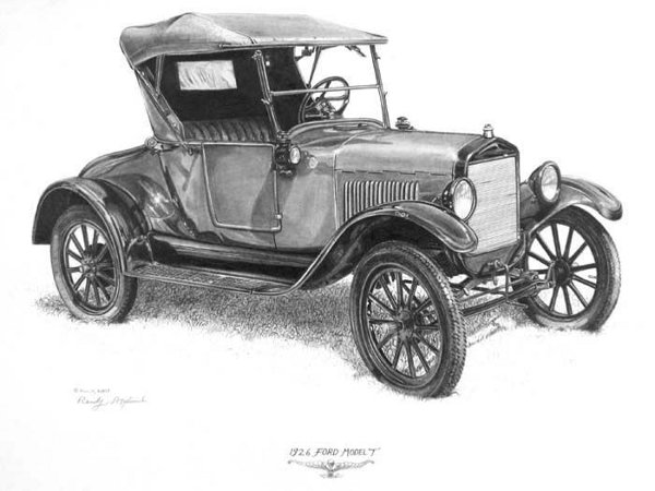 Randy Asplund 1926 Ford Model T