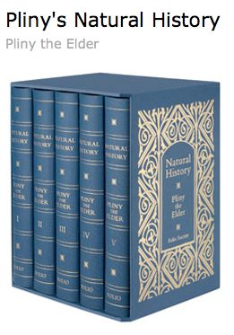 Folio Society Pliny Natural History Set