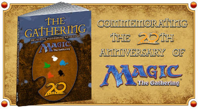 Magic: The Gathering Artists make a book called The Gathering