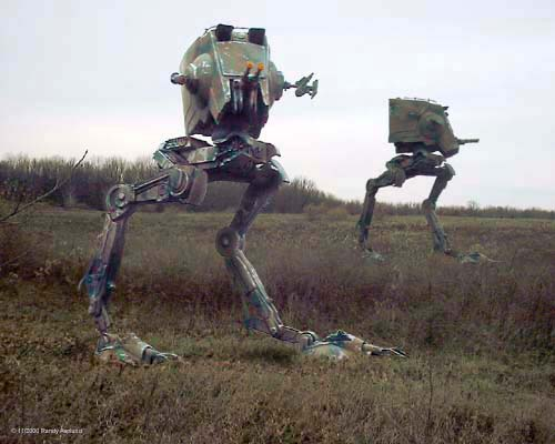 AT-ST Walking Tank from Star Wars