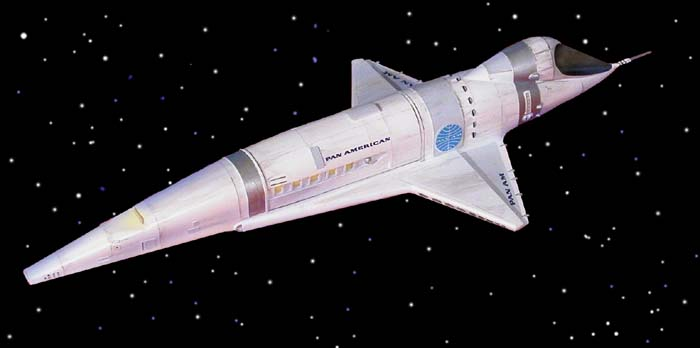 The Pan Am Orion Space Plane