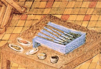 Medieval French Brush Tray